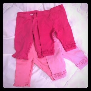 Other - Baby girl pants - set of 4 - 3 Months